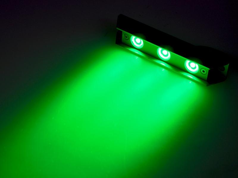 Groen Led Licht : Sublight led unterwasser lampen leuchten für boote grün ebay