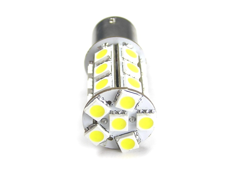 Stilig 24 x SMD LED Pære 6V, 21W - BA15S - Matronics NL-73