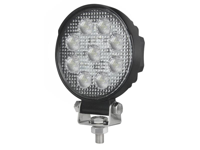 Meget 27W LED Arbejdslampe, Rund 10-30V - Matronics FG18