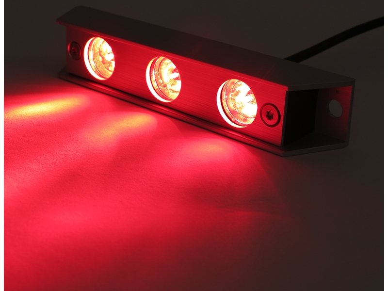 sublight led unterwasser lampen leuchten f r boote rot ebay. Black Bedroom Furniture Sets. Home Design Ideas