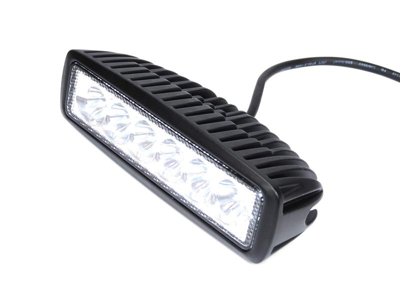Opdateret Flad LED Arbejdslampe 10 - 30V 1080 lm - Matronics VP15