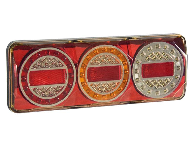 Ny LED Baglygte med Baklys 12 - 24V - Matronics DY26