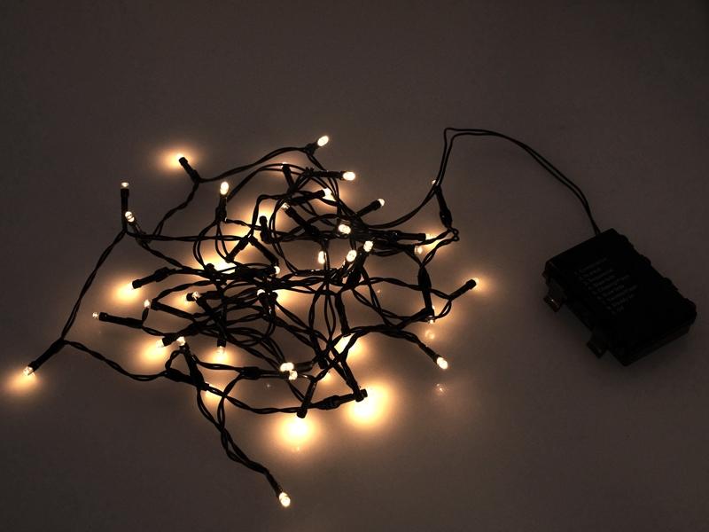 LED lyskæde til 3xAA batterier - Inde og Ude - Matronics