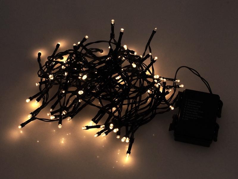 Af modish LED lyskæde til 3xAA batterier - Inde og Ude - Matronics YB89