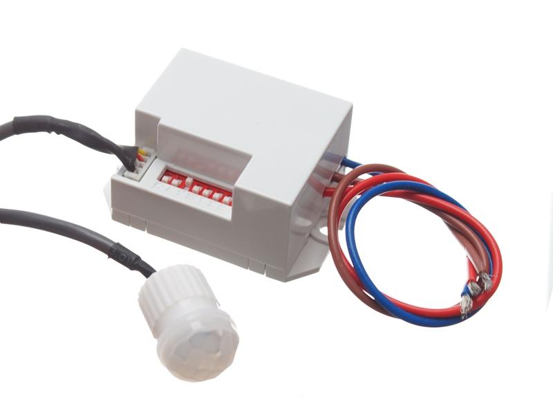 230V mini bevægelsessensor til hul montering 3A 800W