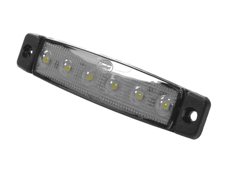 dasteri led markeringslampe 6 leds 12v matronics. Black Bedroom Furniture Sets. Home Design Ideas