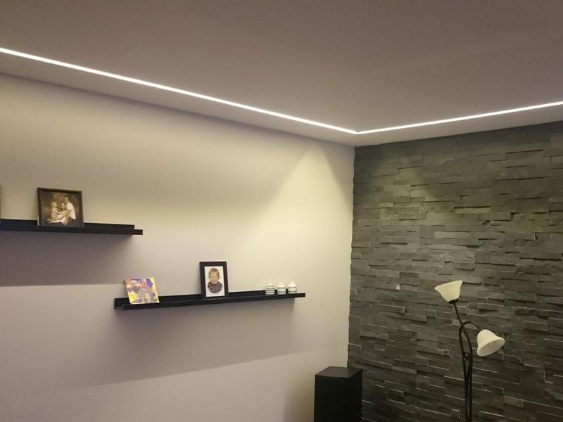 Massivt LED lysbånd, 50cm - 12V - Matronics DH91