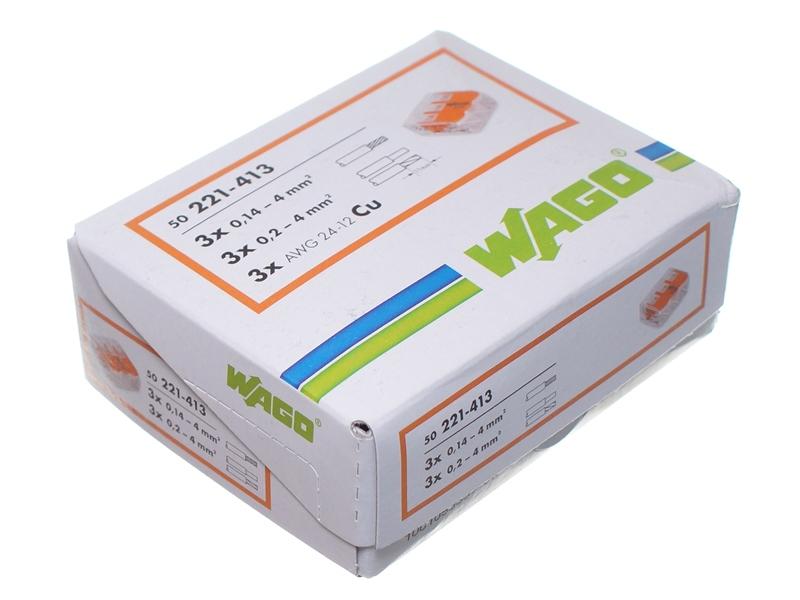 wago 221 samlemuffe med vippearme matronics. Black Bedroom Furniture Sets. Home Design Ideas